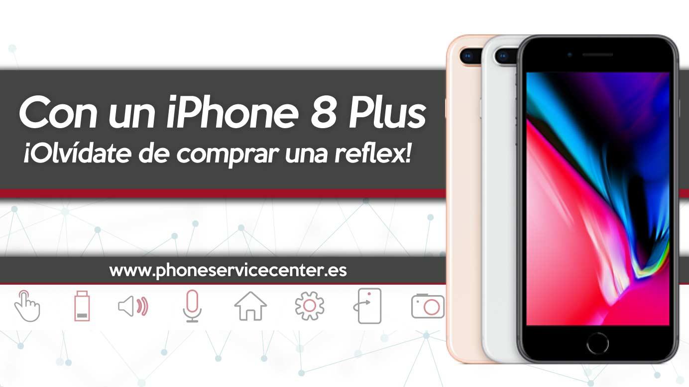 camara del iPhone 8 Plus