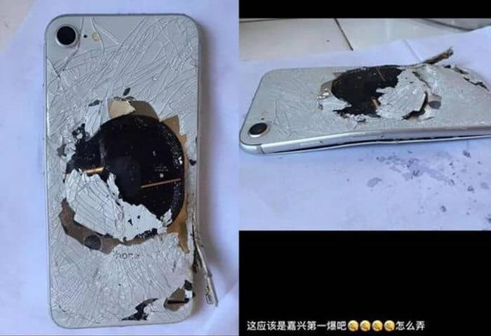 iphone 8 explota