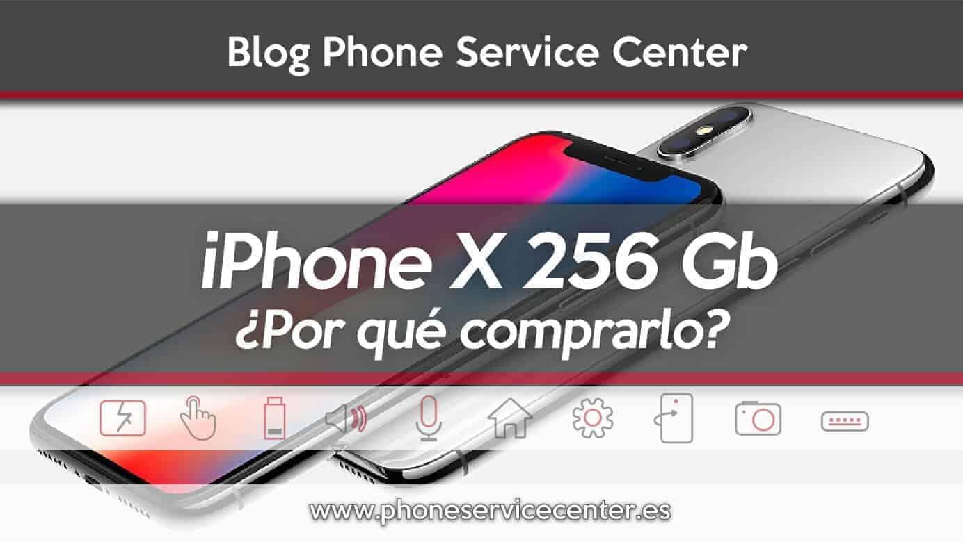 iPhone X de 256 Gb por que lo commprariamos