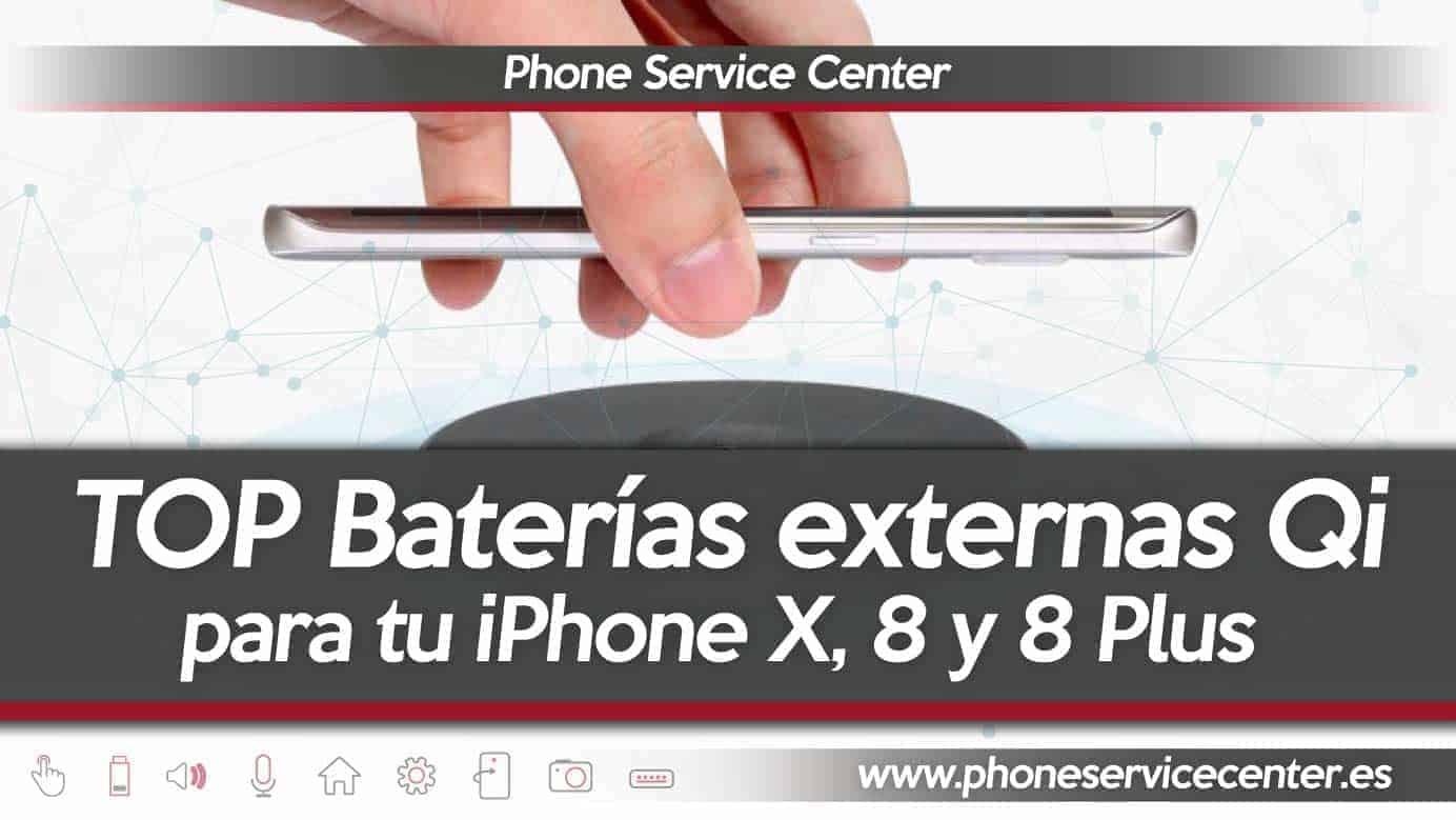 Baterias inalambricas para iPhone X