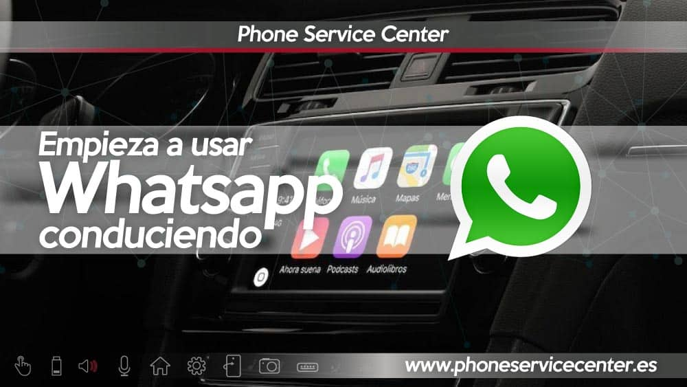 Whatsapp conduciendo Carplay