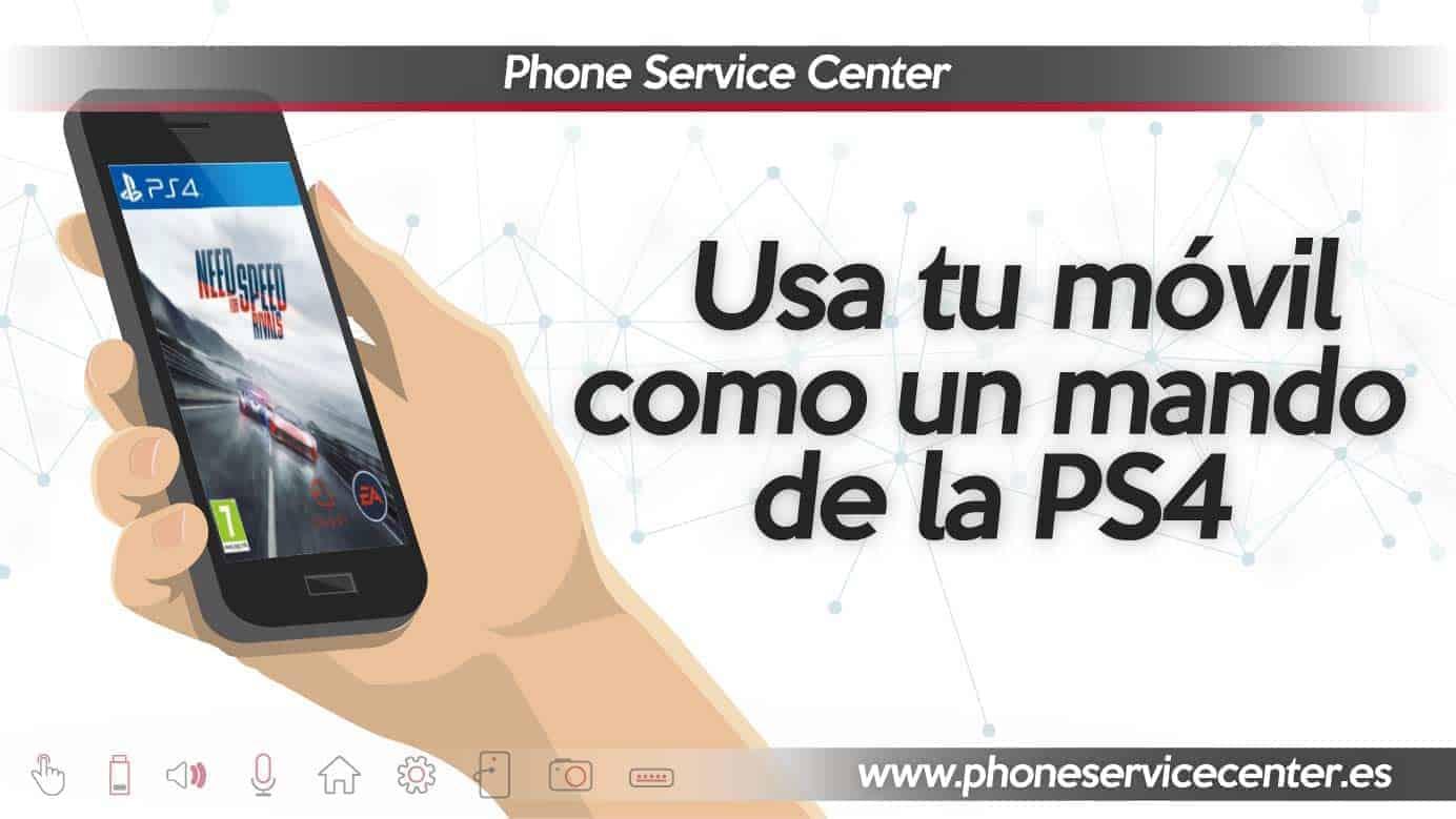 movil como mando en la PS4