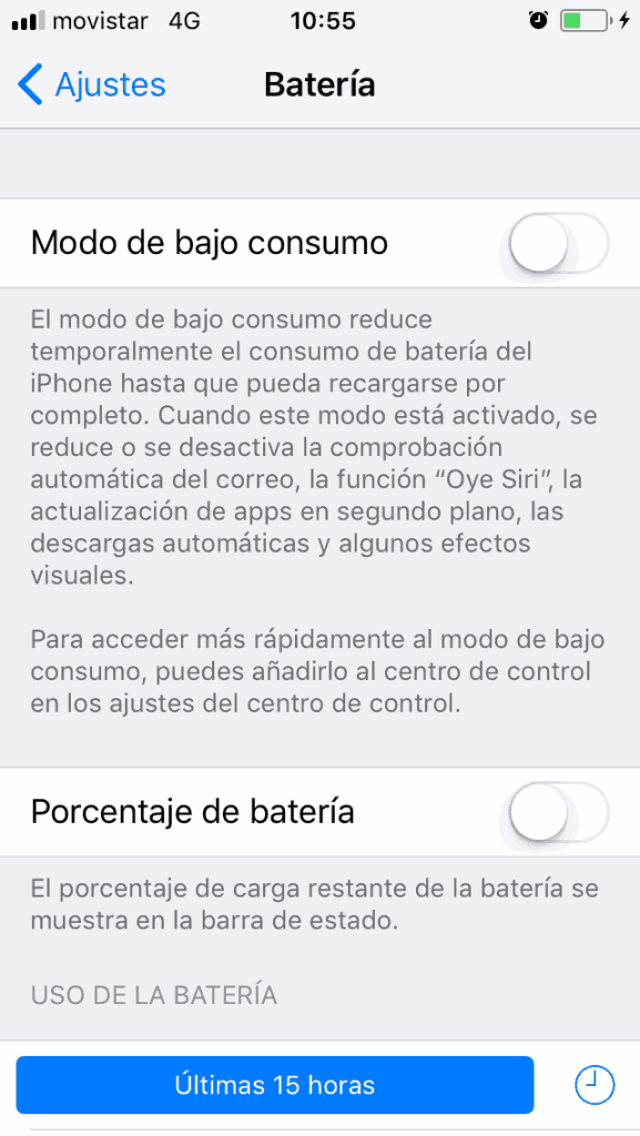 saber si la bateria de tu iPhone esta deteriorada
