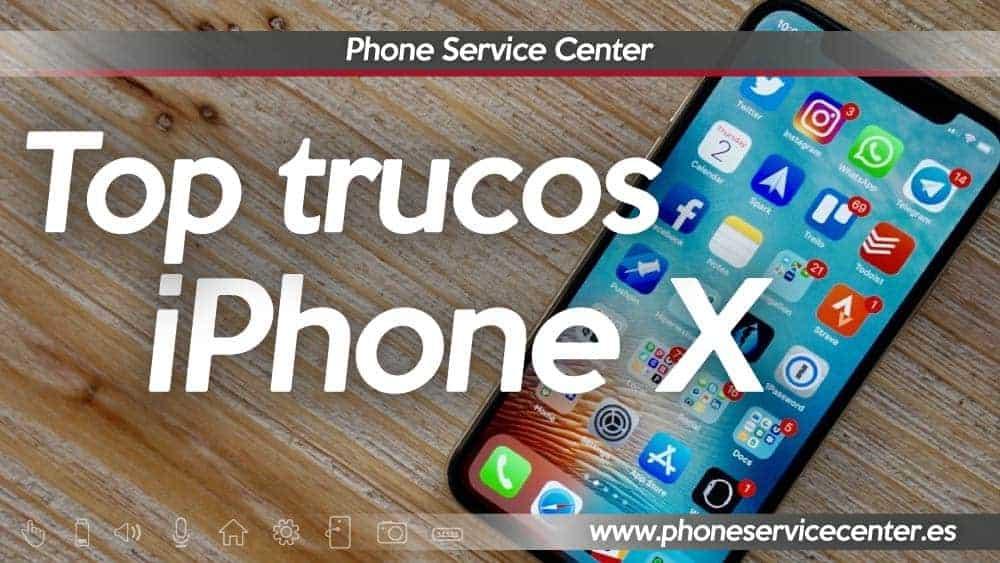 trucos para iPhone X