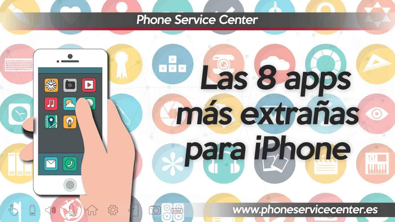 Aplicaciones mas extranas para iPhone
