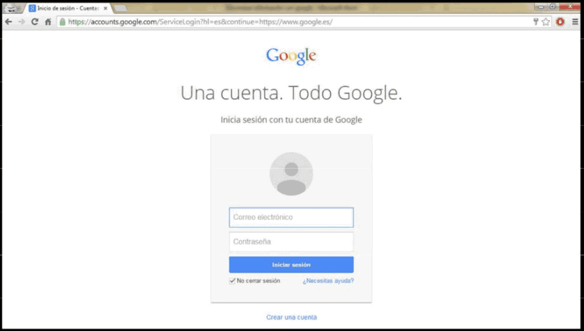 accede a tu cuenta de gmail