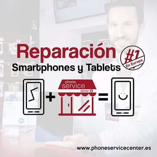 Reparacion de smartphones y tablets Phone Service Center Franquicia