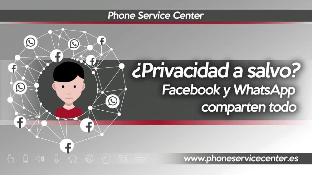 Facebook y WhatsApp comparten tus datos