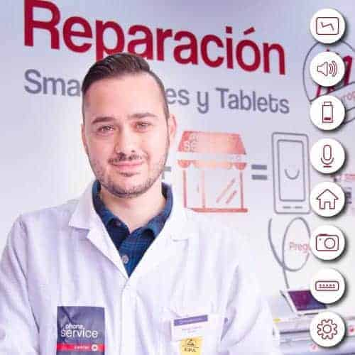 Tecnico de Reparacion de moviles y tablets en Phone Service Center