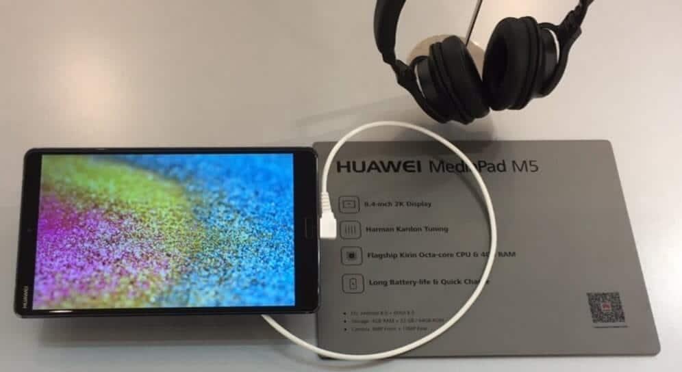 Huawei MediaPad M5 MWC2018