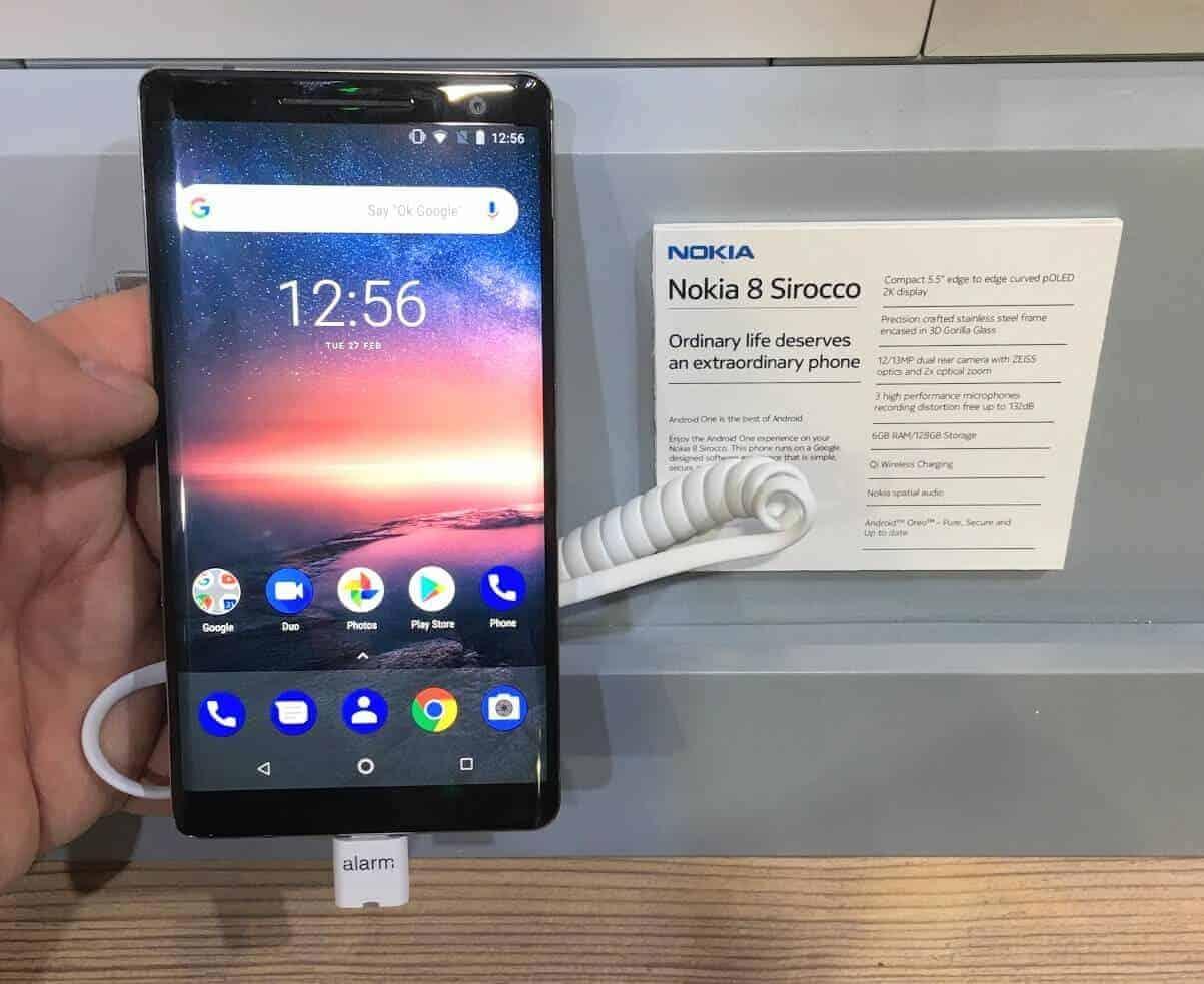 Nokia 8 Sirocco MWC2018
