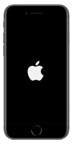 iPhone 8 reiniciando