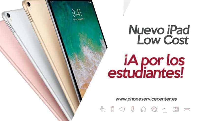 nuevo iPad low cost