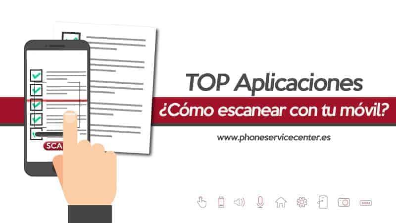 aplicaciones para escanear documentos con el movil