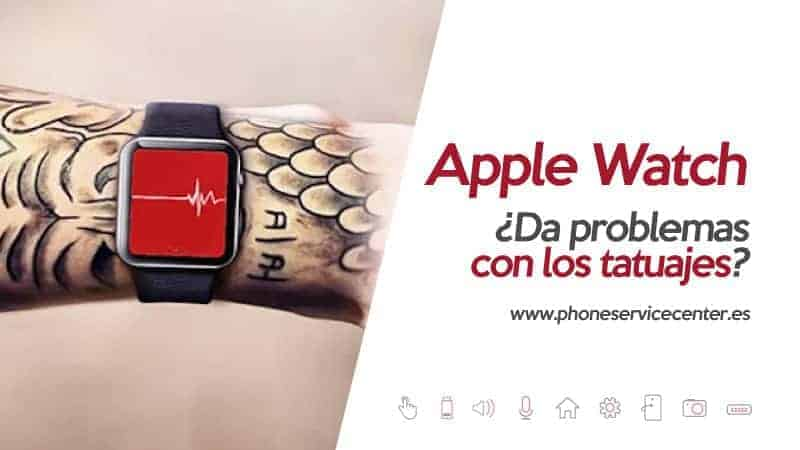 Apple Watch y los tatuajes