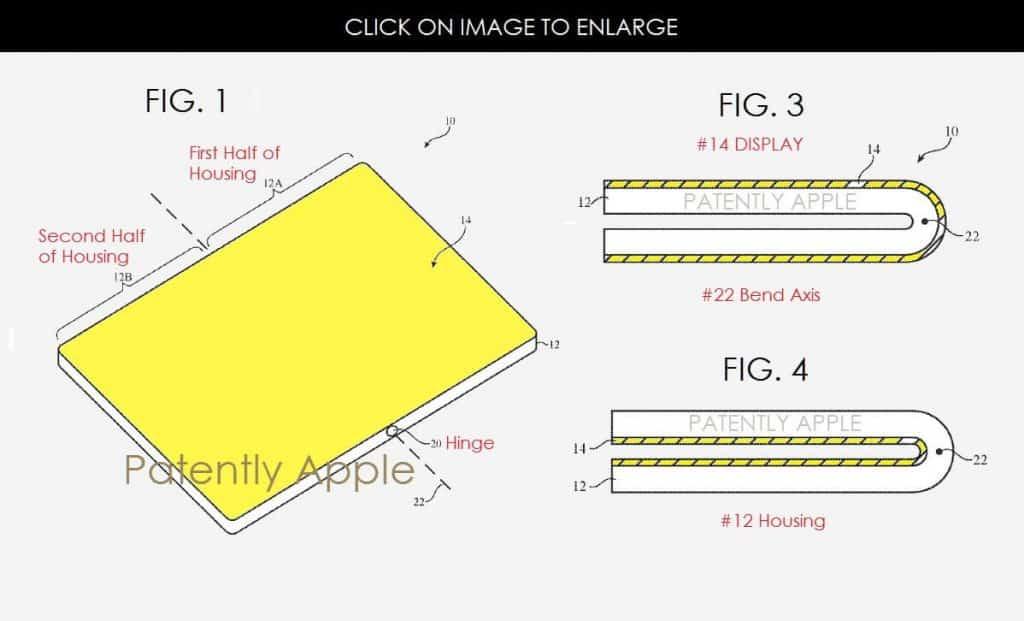 patente apple movil plegable