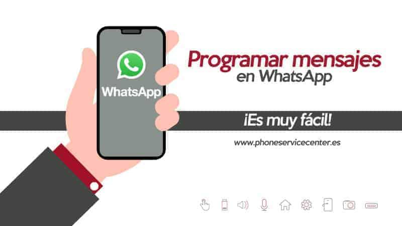 programar los mensajes de WhatsApp