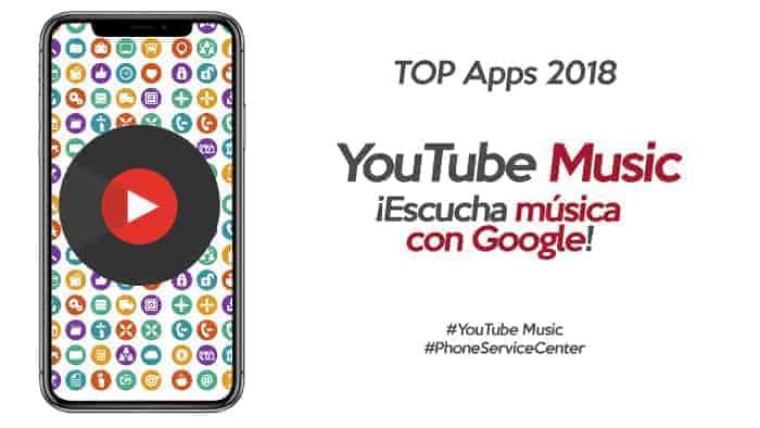 Youtube Music, nueva App de pago para escuchar musica