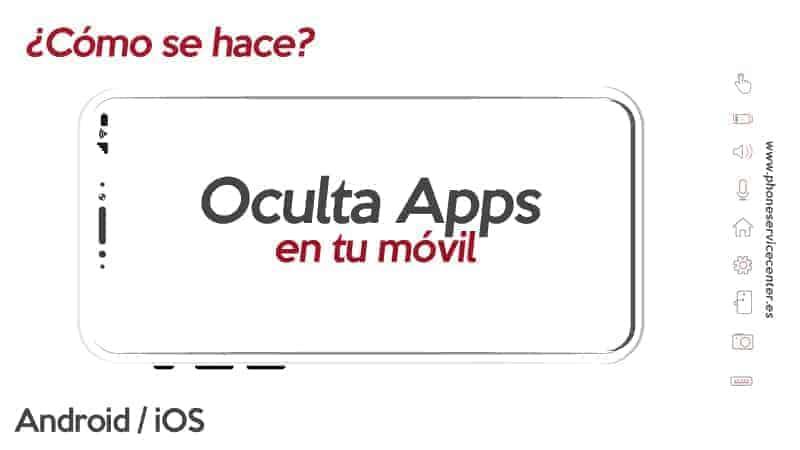 ocultar aplicaciones en el móvil