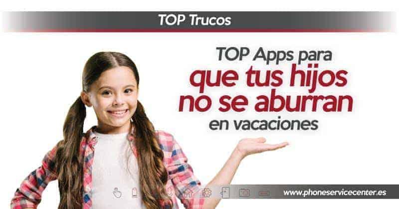 Apps para niños en verano
