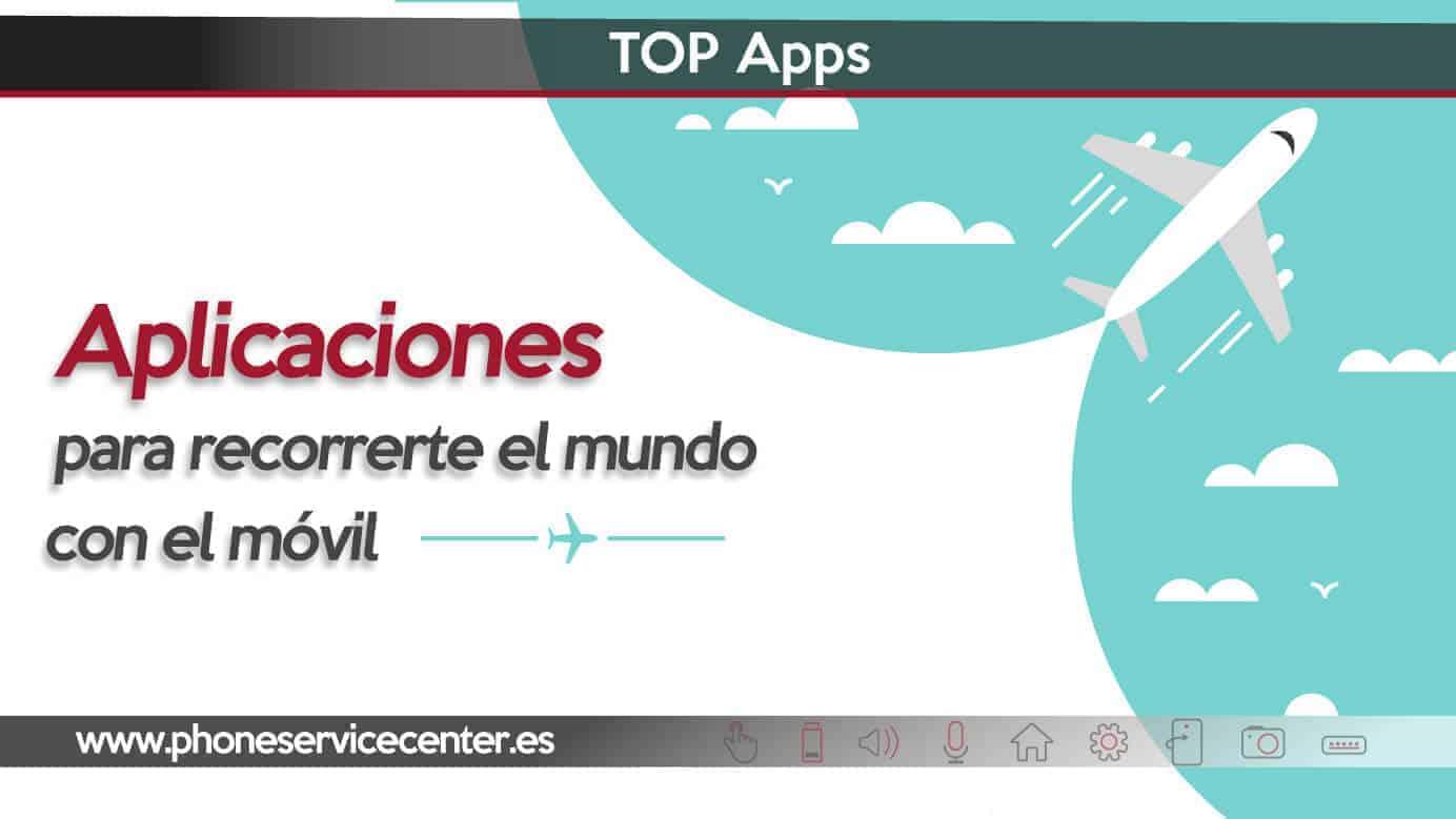 Apps para recorrer el mundo