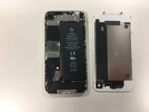 cambiar batería del iphone 4 1