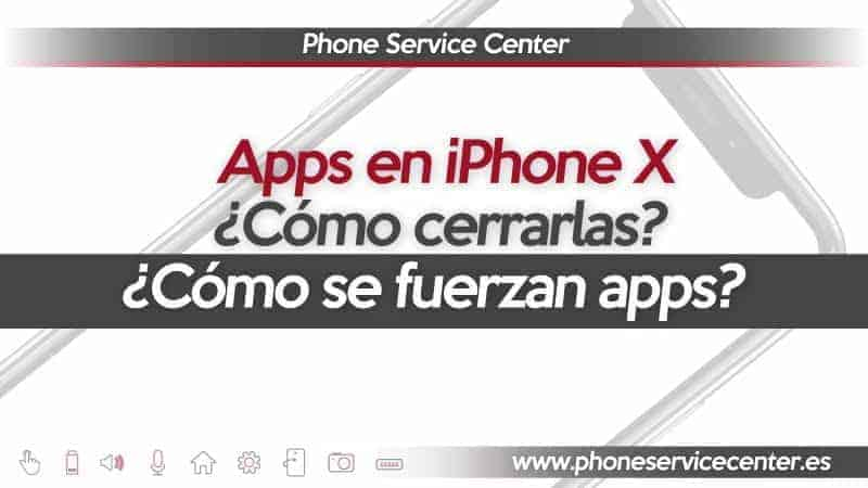 cerrar aplicaciones en iphone x