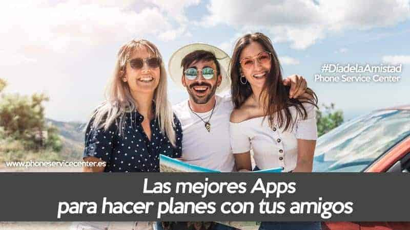 Apps para organizar planes con amigos