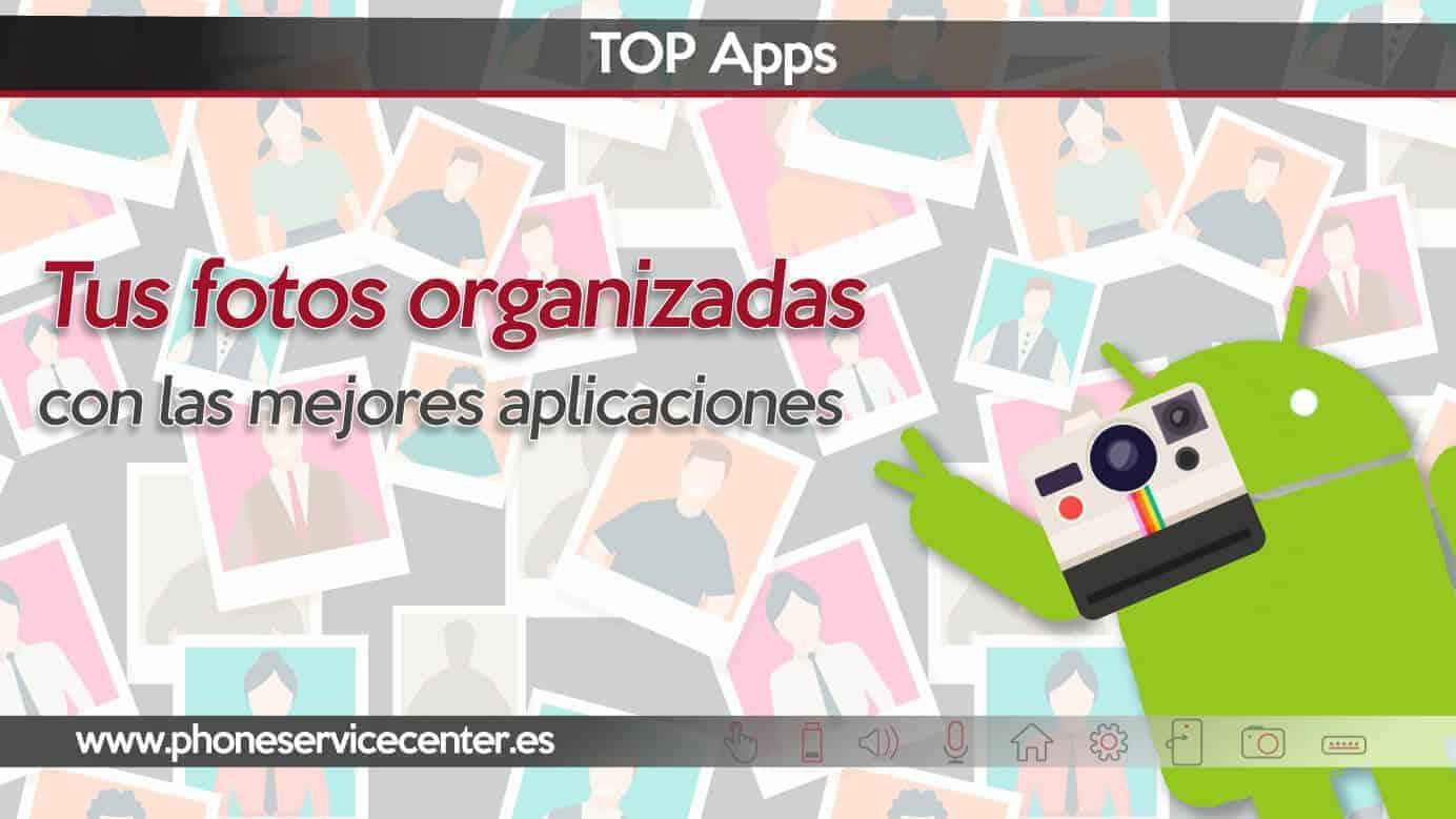 aplicaciones para organizar fotos en android