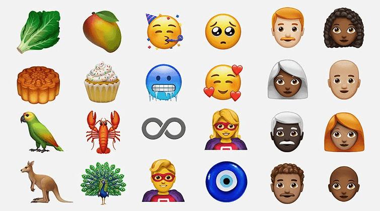 emojis nuevos de apple