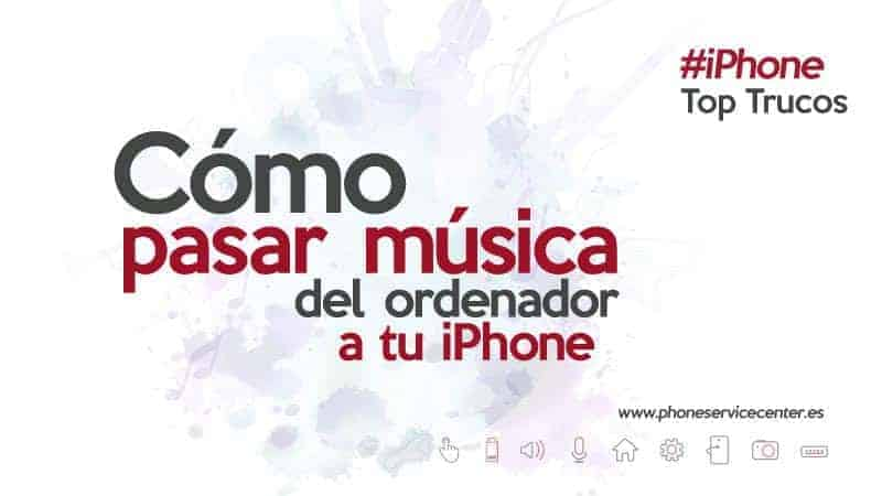 como pasar musica de pc a iphone 5 sin itunes