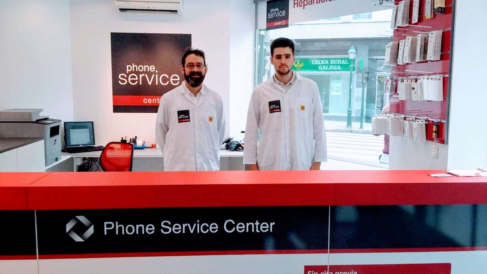 phone service center santiago de compostela