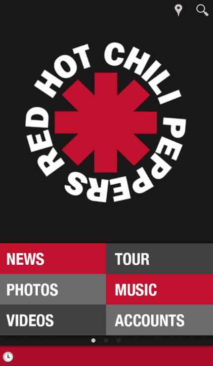 red hot chili peppers app