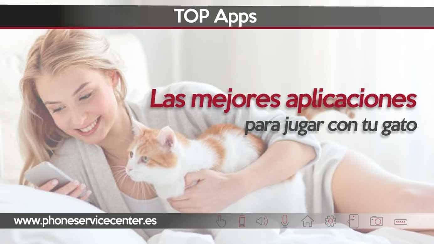 aplicaciones para jugar con tu gato