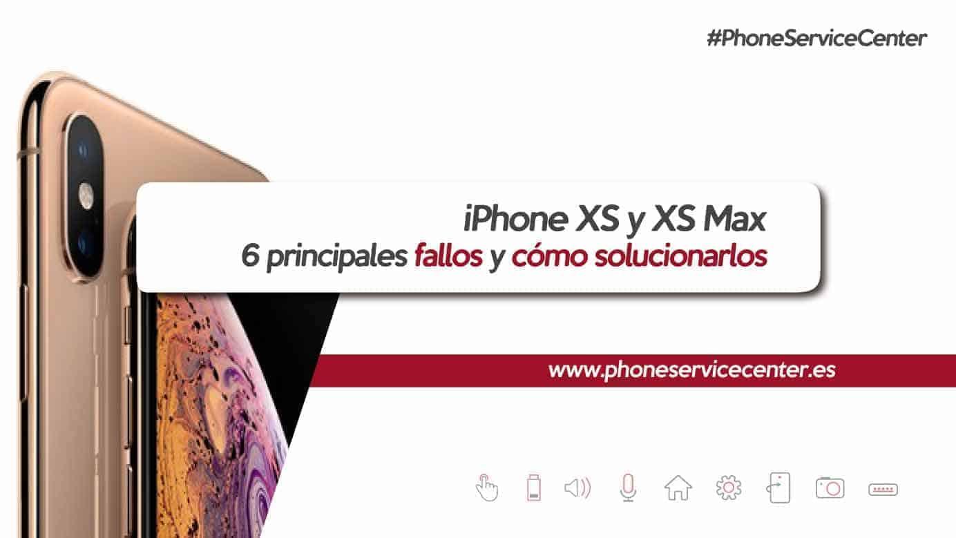 fallos del iPhone Xs