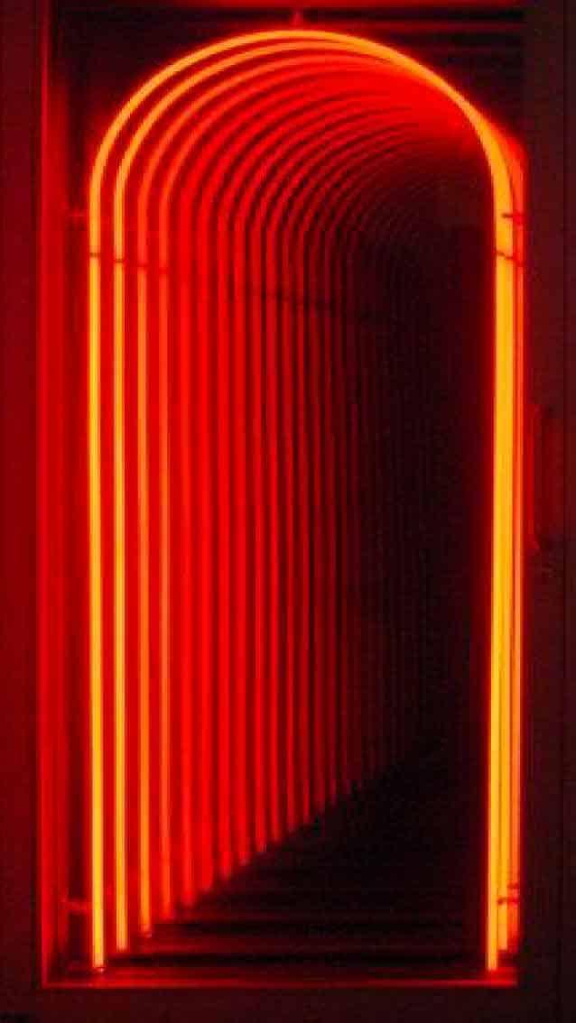 puerta roja fondo iPhone