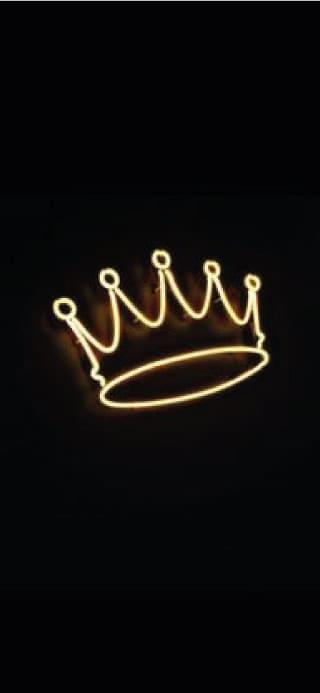 Fondo de pantalla iphone corona rey