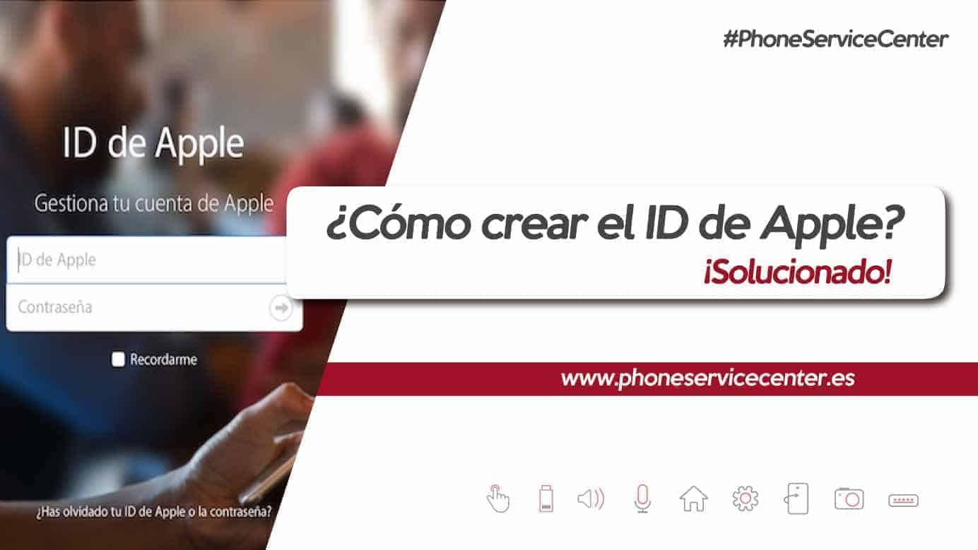 Crear una cuenta ID de Apple
