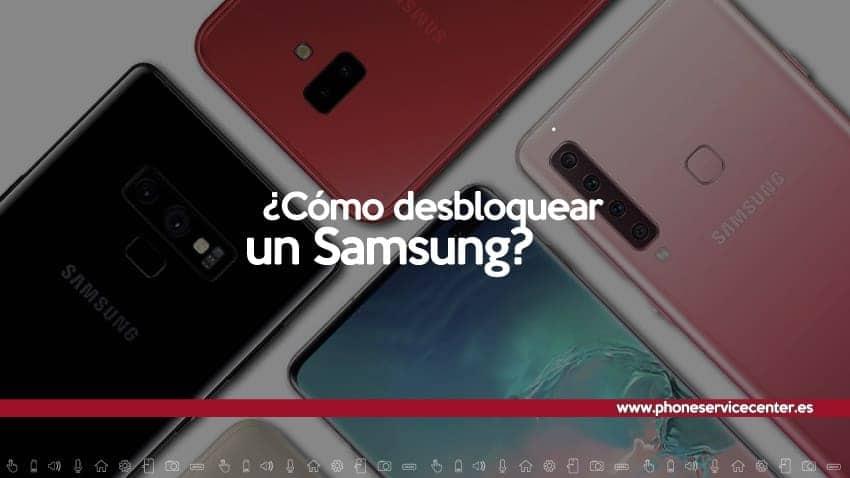 Desbloquear un Samsung
