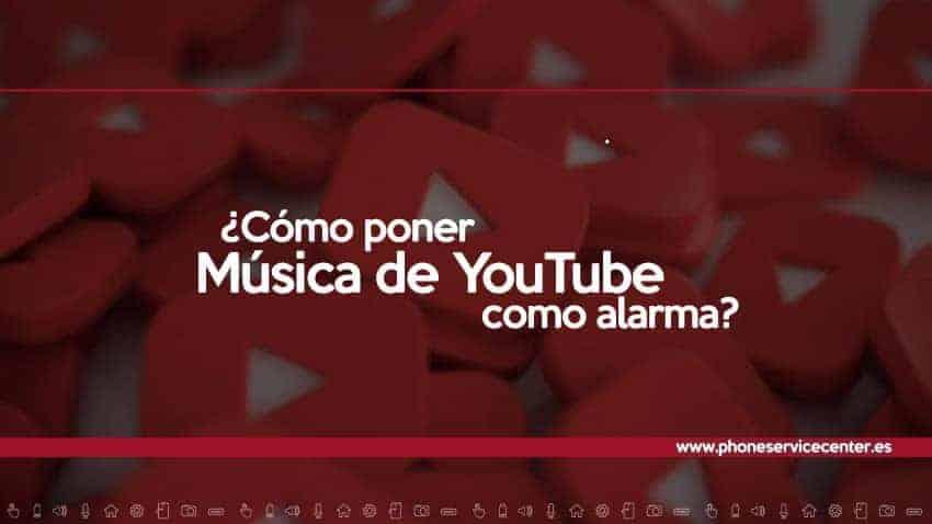 Música de YouTube como alarma