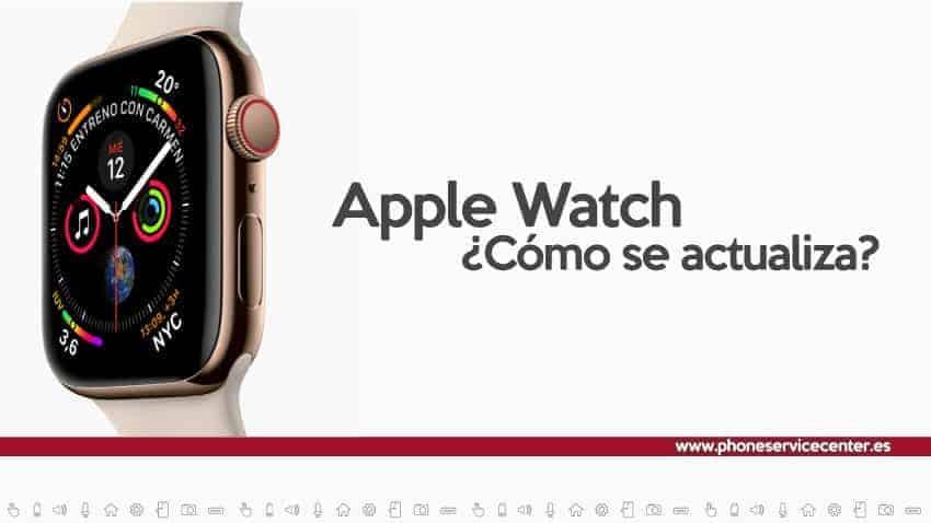 actualizar Apple Watch