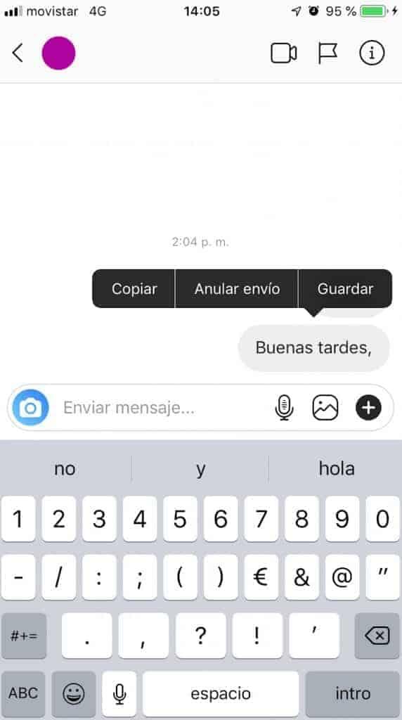 eliminar-un-mensaje-enviado-en-instagram
