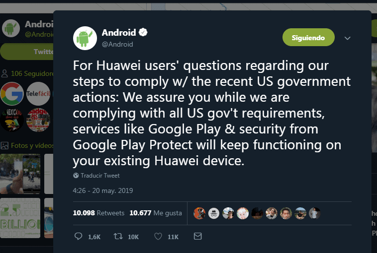 Tuit Android Huawei