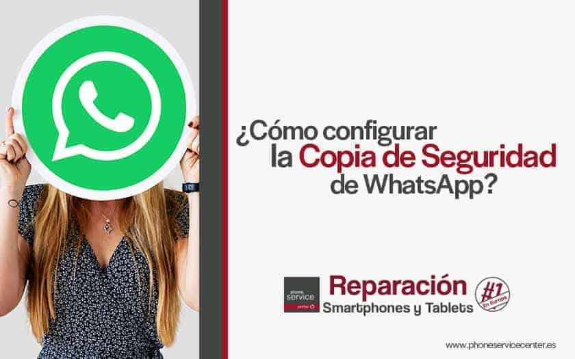 como configurar la copia de seguridad de whatsapp