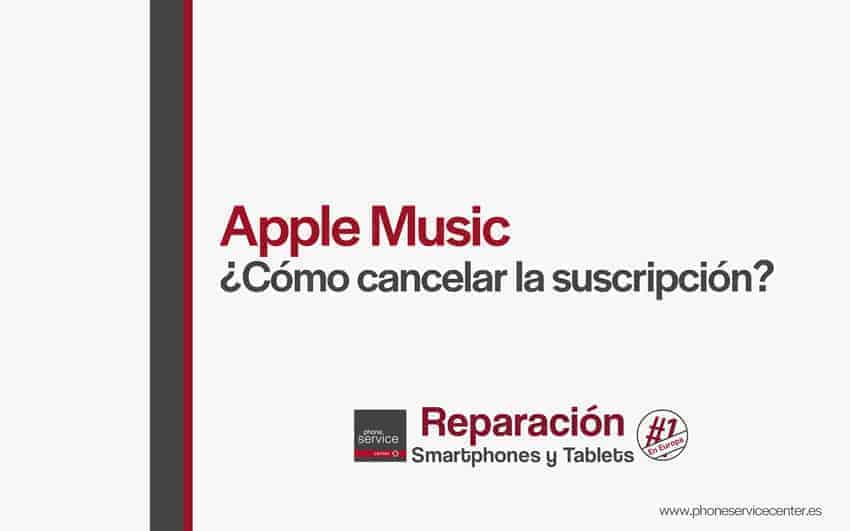 como-cancelar-la-suscripcion-Apple-Music