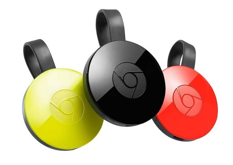 Chromecast-dispositivos
