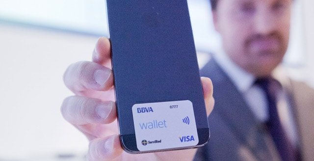 pegatina nfc bbva wallet