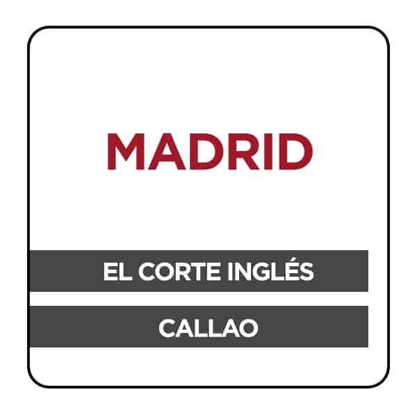 Phone Service Center Madrid El Corte Ingles De Callao